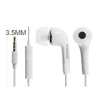 Samsung Tangle-free Stereo Earbuds with linline Mic & Volume Key- White
