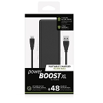 Mophie, Power Boost Mini, 2,600 mAh, Compact External Battery, Black