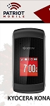 PATRIOT MOBILE - KYOCERA S2151 KONA 15 DAYS UNLIMITED TALK & TEXT