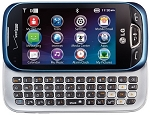 LG Extravert 2 VN280 Blue (Verizon) Qwerty Touch Basic Cell Phone
