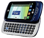 Lg Xpression 2 C410 (At&t Only) Cell Phone With Full QWERTY Keyboard - Blue
