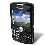 blackberry 8330 Page Plus Black & Gray