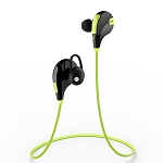 Aukey EP-B4 Bluetooth 4.1 Wireless Stereo Sport Headphones with AptX, Built-in Mic for iPhone, Samsung, Android Smartphones (Green)