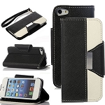 For iPhone 6S,iPhone 6S Wallet Case,iPhone 6S Case,Coddycase PU Leather Wallet [Card Slots] [Stand] Case Cover For iPhone 6/ 6S 4.7 inch (Black+White)