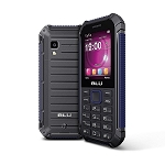 BLU Tank Xtreme 2.4 - Water and Shock Resistant Phone -1,650mAh Battery- Black/Blue