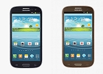 Samsung  galaxy S3 Brown & Blue