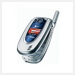 LG VX5200 - Silver Blue (Verizon) Cellular Phone