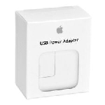 Apple A1401 12W Home Charger with Flip-Out Prongs.