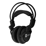 NoiseHush NX22R 3.5mm Stereo Headphones - Black
