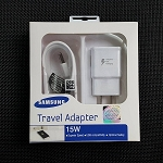 Samsung Original Quality 15W Fast Charging Travel Adapter with Micro USB Cable- WHITE