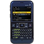 Sprint Sanyo SCP 2700 - Deep Blue Full QWERTY Keyboard Bluetooth Camera GPS