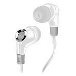NoiseHush NX85 Stereo 3.5mm Headset with Mic ‑ White/Grey