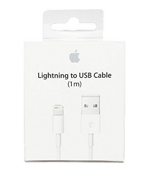 OEM 1M/3 ft MD818 Lightning Cable with packaging