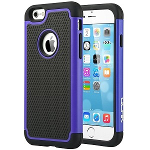 sneakers for cheap f431b 01aa6 iPhone 6S Case, ULAK iPhone 6 / 6S (4.7 INCH) Case Shock Absorbing Hybrid  Rugged Slim Cover Shell w/ Plastic Outer & Rubber Silicone Inner Cover  (Navy ...