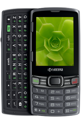 One Month $20 Unlimited Talk & Text Plan + Kyocera Verve