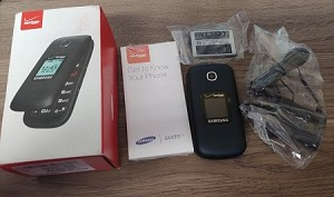 Samsung Gusto 3 SM-B311V Blue (Verizon) flip NEW IN BOX