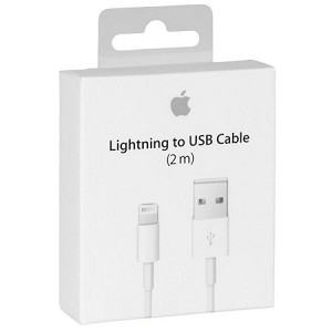 OEM 2M/6 ft MD819 Lightning Cable with packaging
